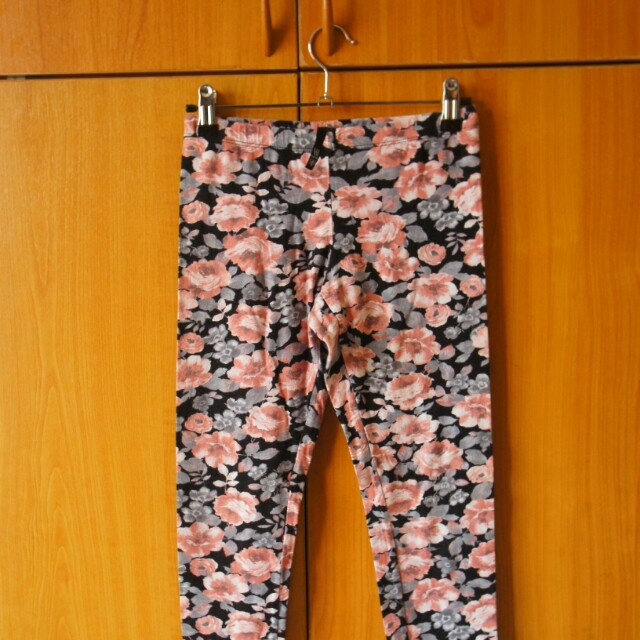 States Floral leggings