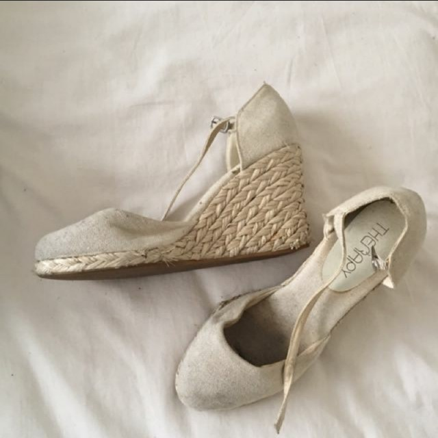 Summer wedge heels