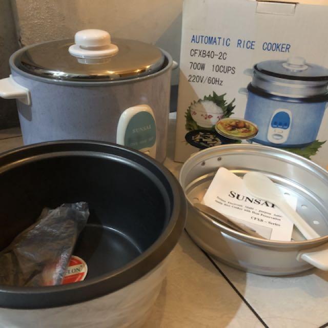 Sunsai Automatic Rice Cooker