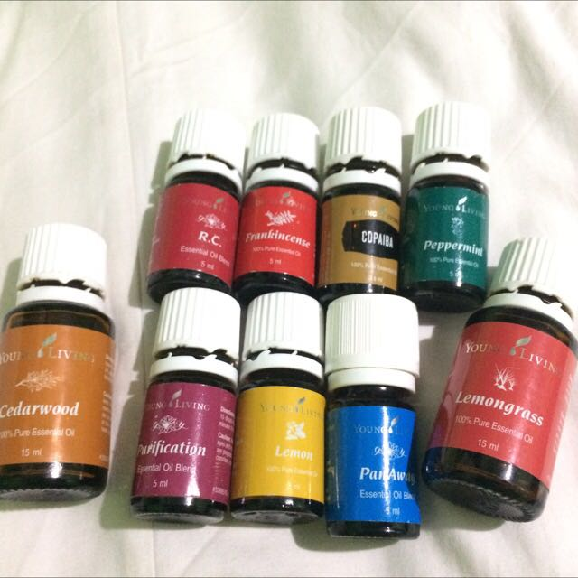 Take all young living essential oil 10pcs