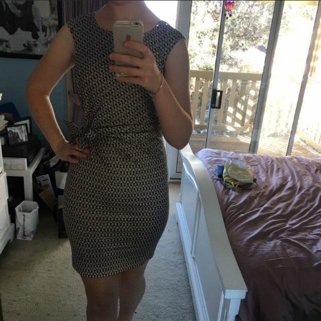 Target Geometric Work dress