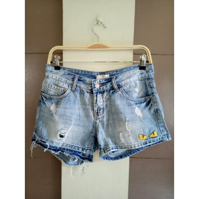 tattered short