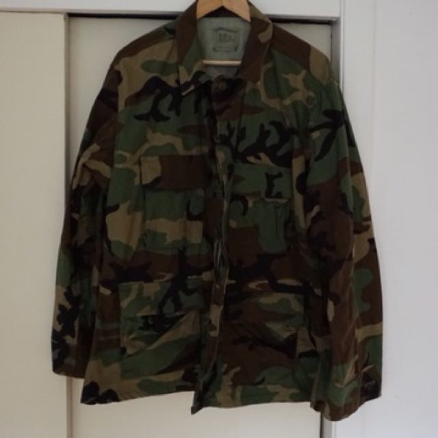 US Army camo camouflage jacket