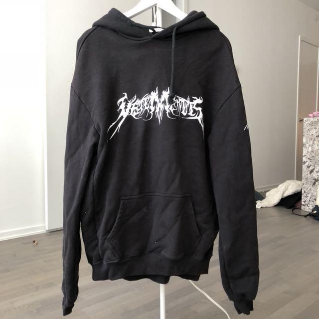Vetements black oversize hoodie