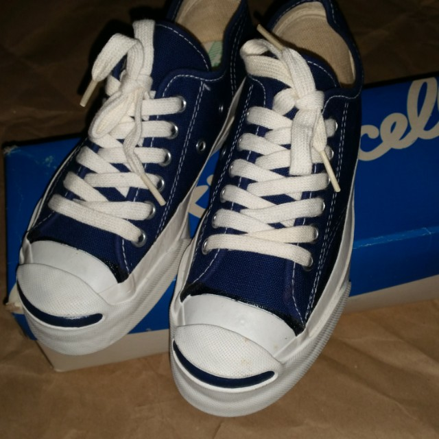 ba17b1dbcdddf9 Vintage 1975 Converse PF Jack Purcell shoes made in USA NOS