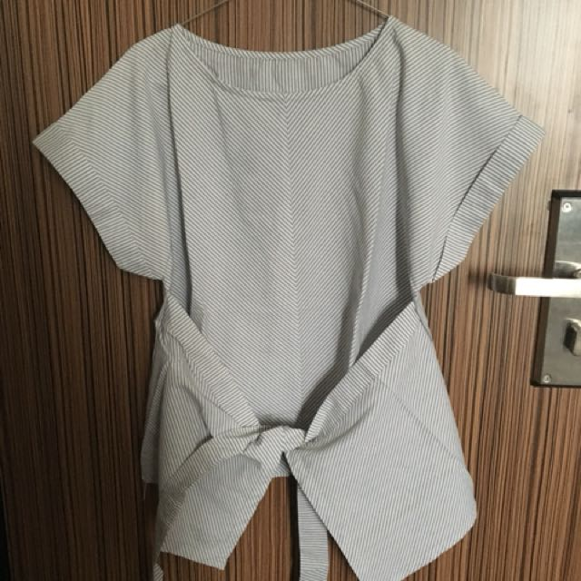 Wrap front - grey
