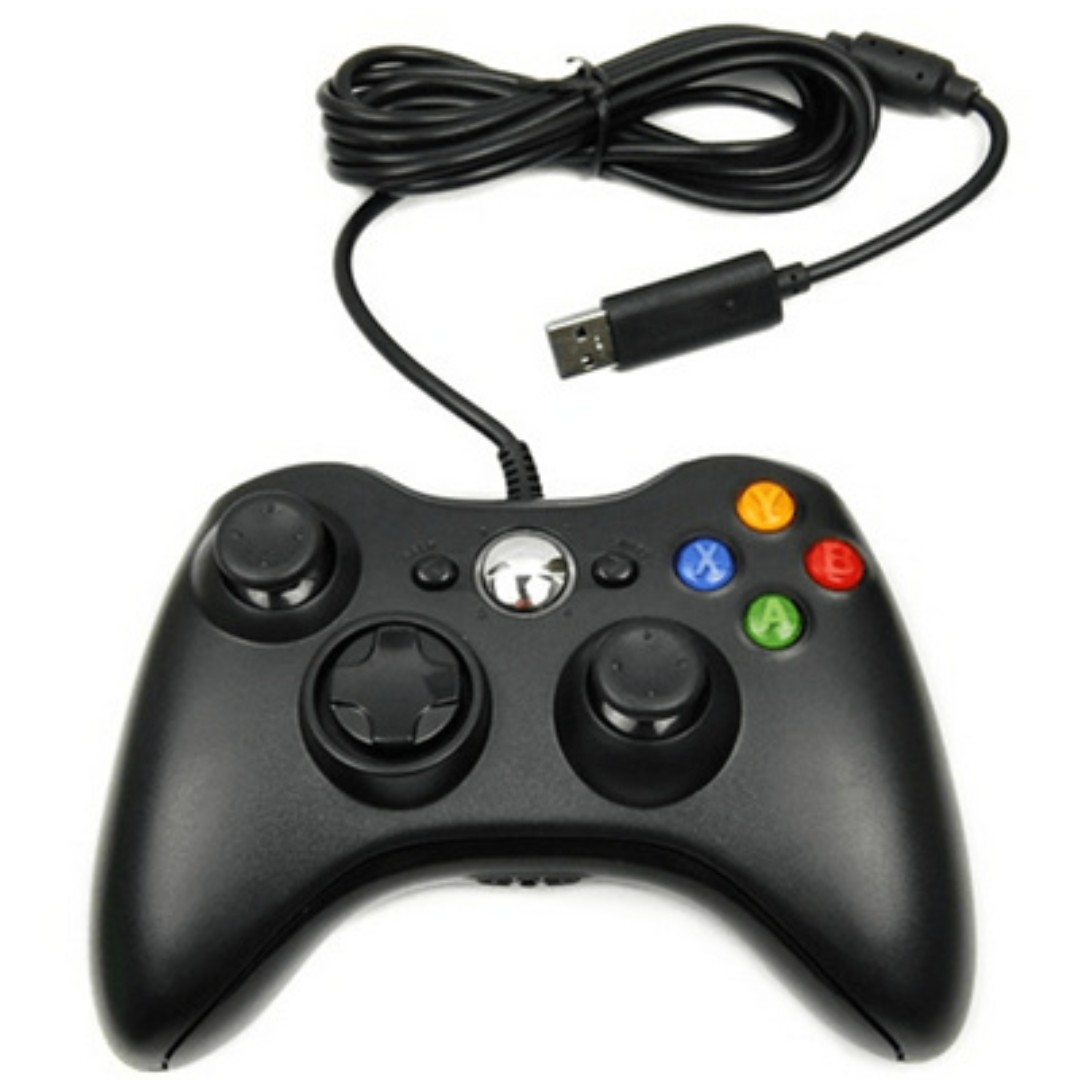 Xbox360 Wired Controller (PC/Laptop) Vibration, Video Gaming, Gaming ...