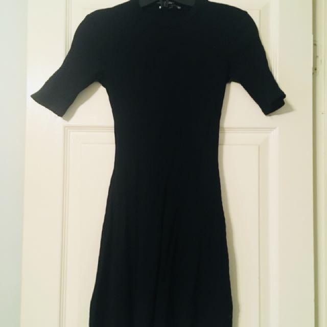 Zara- Black dress