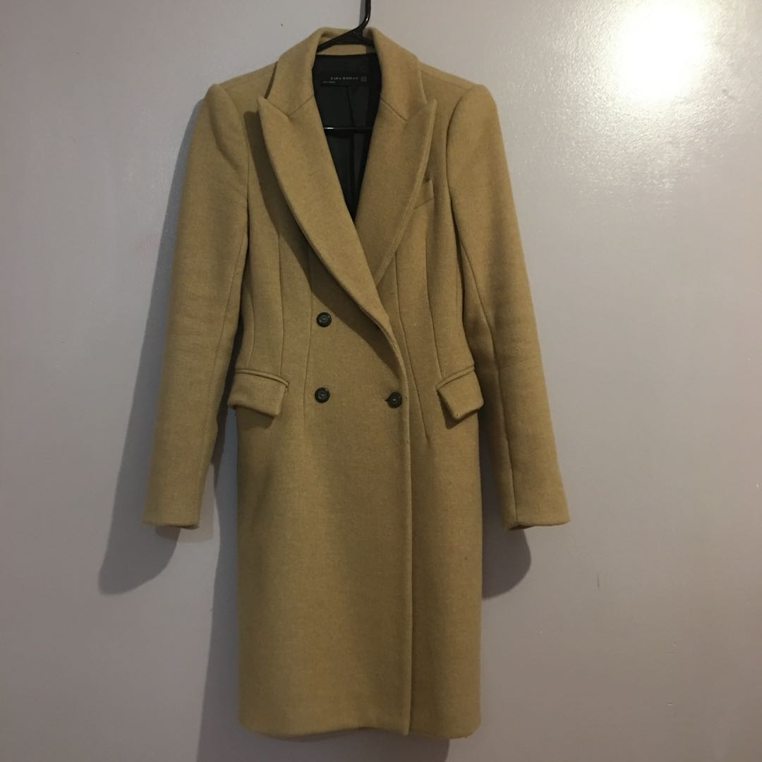 Zara long coat - wool