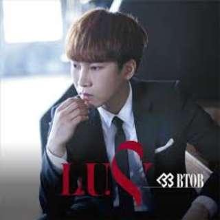 BtoB L.U.V. japan album (eunkwang cover)