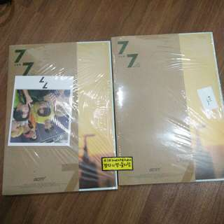 GOT7 7 FOR 7 ALBUM ONLY TAIWAN EDITION