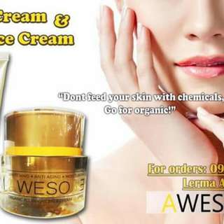 Awesome Organic Face Cream