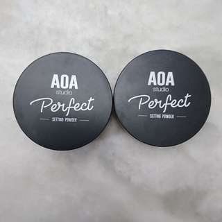 AOA Authentic Perfect setting powder