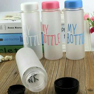 My Bottle Frosted Plastic Bottle Tumblr Tumbler