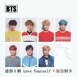 BTS Love Yourself Replicards V Version Set