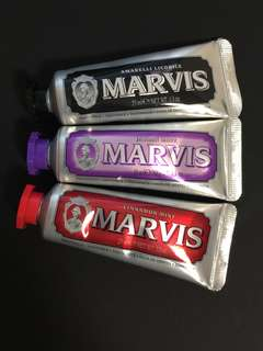 Brand New Marvis Toothpaste 3 for 20