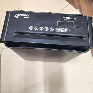 二手簡易型電動碎紙機