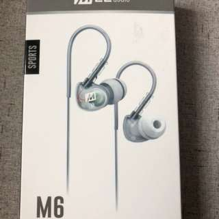 MEE Audio Sport-Fi M6 In-Ear Headphones with Memory Wire
