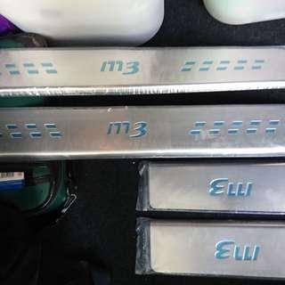 Mazda 3 scuff plates