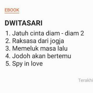 Paket novel ebook dwitalestari