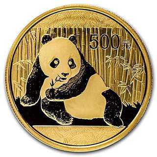 2015 1 Troy Oz Chinese Gold Panda