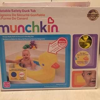 Preloved munchkin travel bathtub
