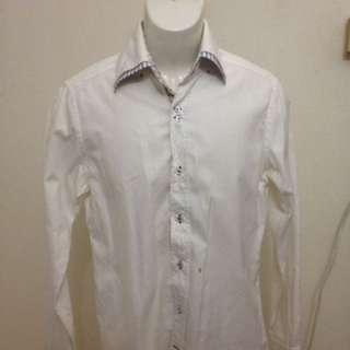 White Shirt zara men