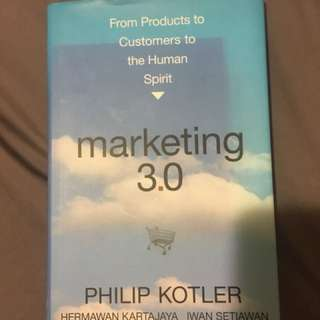 Book - Marketing 3.0 by Philip Kotler