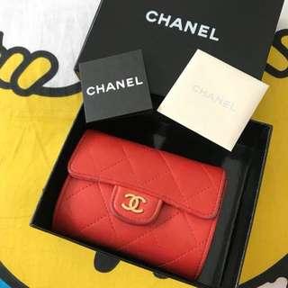 Chanel card holder ❤️ short wallet 銀包