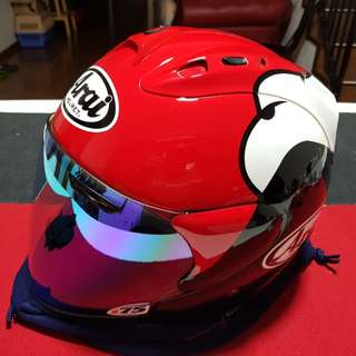 XL Arai Ram-4 Kenny Red
