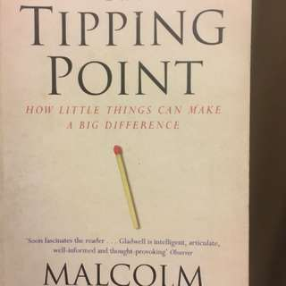 Book - The Tipping Point by Malcolm Gladwell