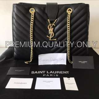 Customer's Order YSL shopper Tote in black