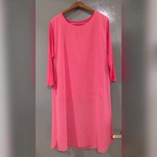 long blouse(pinky peach) #15Off
