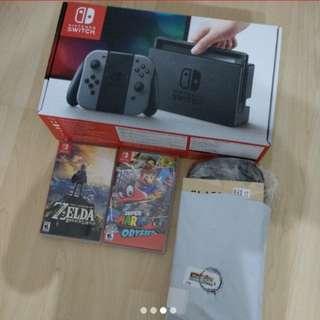 Nintendo Switch Japan set