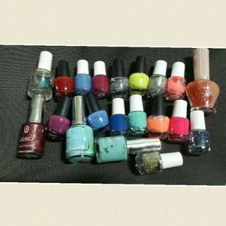 (ALL in the pic for $5) Nail Polishes