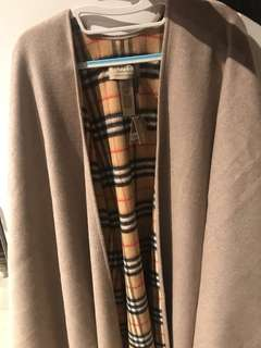 Burberry large wrap / scarf / poncho (Original Price $11,500)