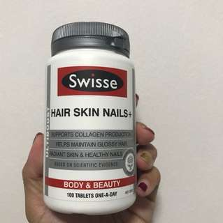 Swisse Hair Skin Nails+