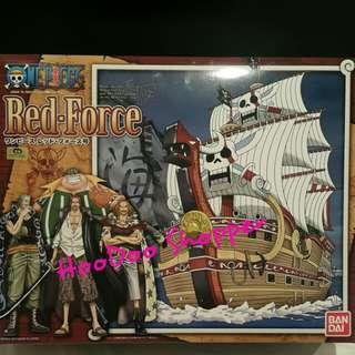 海賊王 One Piece 模型船 - 紅髮號