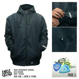 Jaket Anti Air - Jumbo Navy