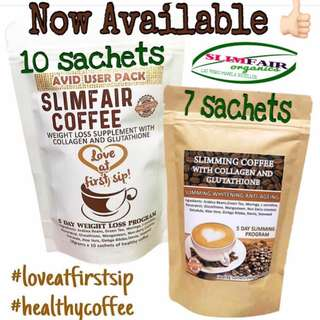 Slimfair organics coffee