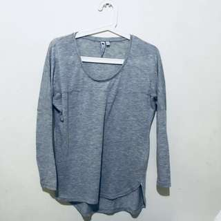 Cotton On Light grey Long Sleeve TOP
