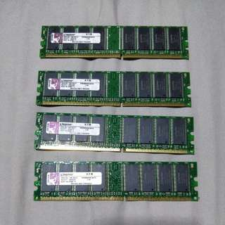 Kingston DDR 1GB Memory