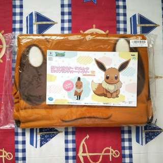 Eevee Sun and Moon Big Blanket
