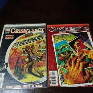 Conspiracy #1&2 Marvel Comics 1998