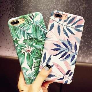 iPhone 清新樹葉手樹殼