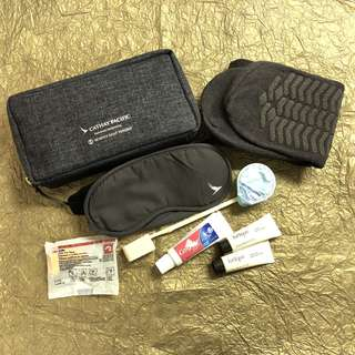 Cathay Pacific 國泰航空 X Seventy Eight Percent 化妝袋 / 多用途袋 / 旅行套裝 / pouch / amenity bag with kits