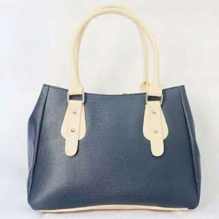 Xia (navy blue with white handle)
