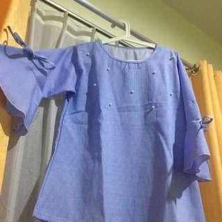 Baju bell sleeves