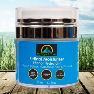 Retinol Moisturizer Cream, Best Face Moisturizer for Dry Skin, Anti Wrinkle & Anti Aging Cream