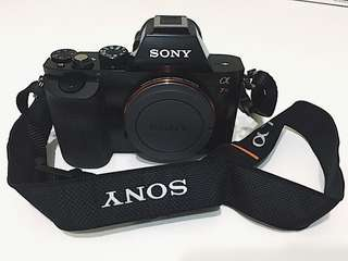 Sony A7r body only 9.9new